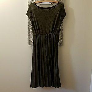 Max Studio Army Green Sweater Dress sz?L